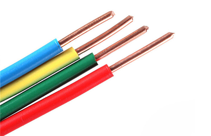 Cable wire electrical 2.5mm 4mm 6mm copper core lighting cable